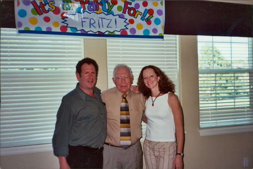 Fritz with Scott and Paula